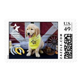 Cowboy Abby stamp
