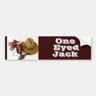 Cowboy Action Shooter Alias Bumper Sticker