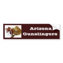 Cowboy Action Shooting Club Bumper Stickers