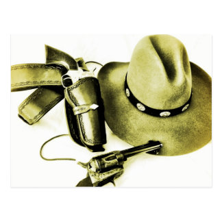 Cowboy Action Shooting Gear Postcard
