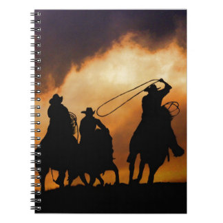 Cowboy and Cowgirl Gift Sutff Spiral Notebook
