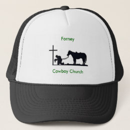 cowboy_and_cross, Forney, Cowboy Church Trucker Hat