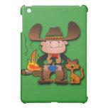 Cowboy and His Cat iPad Mini Covers