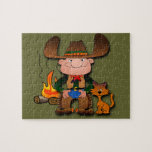 Cowboy and His Cat Puzzles