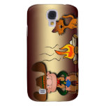 Cowboy and His Cat Samsung Galaxy S4 Case