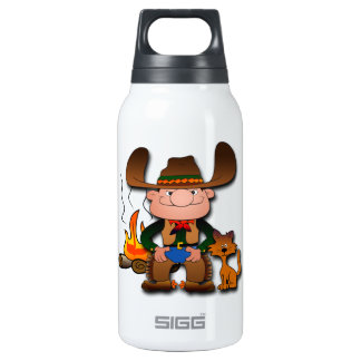 Cowboy and His Cat SIGG Thermo 0.3L Insulated Bottle