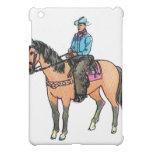 Cowboy and Horse iPad Mini Case