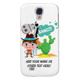 Cowboy and Horse Samsung Galaxy S4 Cover
