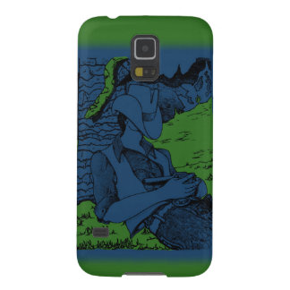 Cowboy and Snake Galaxy S5 Cover