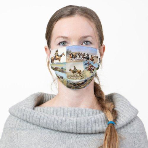 Cowboy Art Cloth Face Mask