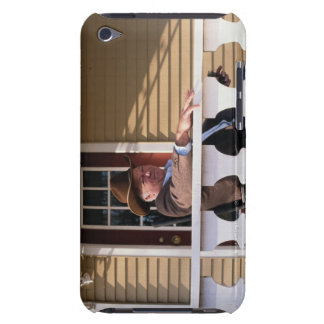 Cowboy at Home iPod Touch Case-Mate Case