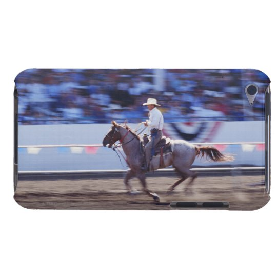 Cowboy at the Rodeo Barely There iPod Cover