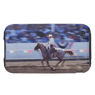 Cowboy at the Rodeo iPhone 3 Tough Case