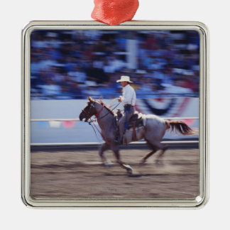 Cowboy at the Rodeo Christmas Tree Ornament