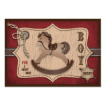 Cowboy Baby Gift Tag Business Card Templates