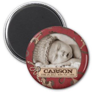 Cowboy Baby Magnet R