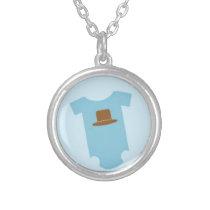 Cowboy Baby Pendant Necklace