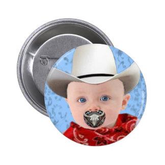 Cowboy Baby Pinback Button