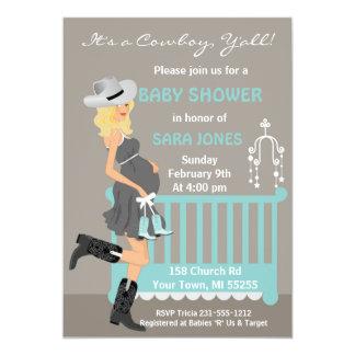 Western Baby Invitations Announcements Zazzle