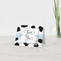 Cowboy Baby Shower Thank You Note Card