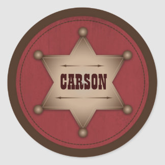 Cowboy Baby Sticker B