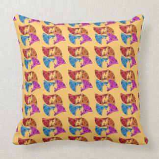 Cowboy Bandana Nursery or Kids Room Decor - Throw Pillow