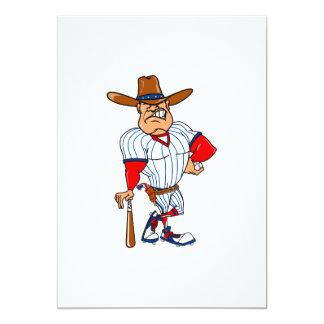 Cowboy baseball player card