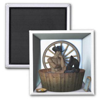 Cowboy Bath Magnets