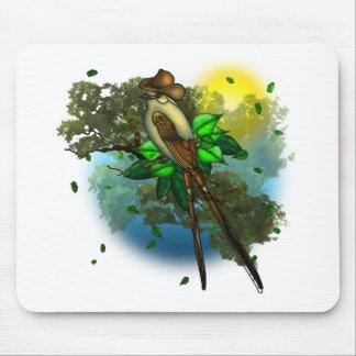 Cowboy Bird Mouse Pad