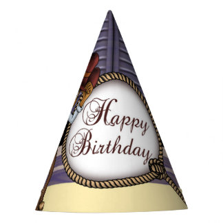 Cowboy Birthday Party Hat