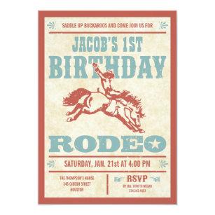 Cowboy Party Invitations Zazzle