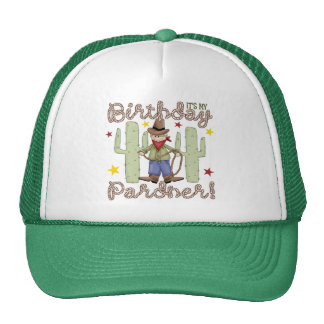 Cowboy Birthday Trucker Hat