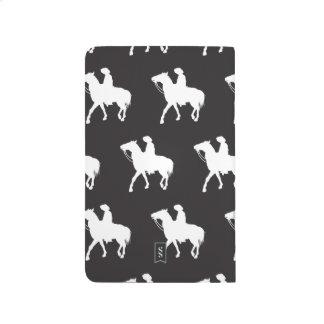 Cowboy black white journals