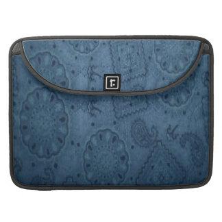 Cowboy Blue Bandana Macbook Pro Laptop Sleeve