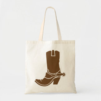 Cowboy boot canvas bags