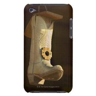 Cowboy boot bird house barely there iPod cover