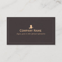 Cowboy Boot Business Card