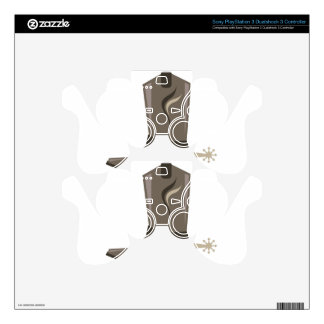 Cowboy Boot Decal For PS3 Controller