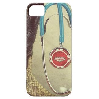 Cowboy Boot Doctor Stethoscope Casino Chip Nurse iPhone 5 Case