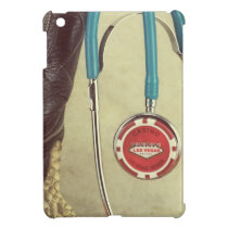 Cowboy Boot Doctor Stethoscope Casino Chip Nurse Cover For The iPad Mini