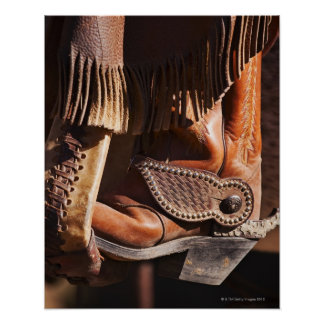 Cowboy boot poster