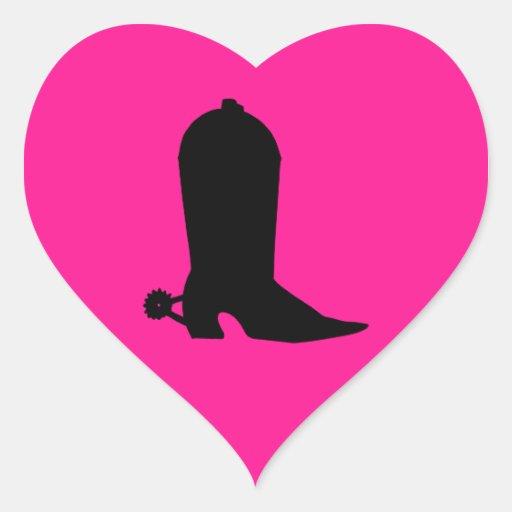 Cowboy Boot Silhouette Sticker