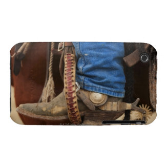 Cowboy boot with spur iPhone 3 covers