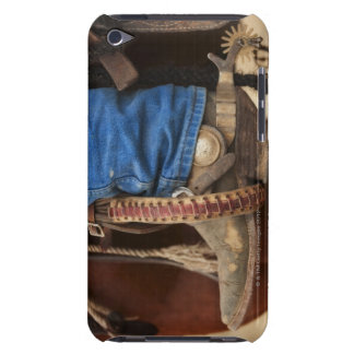 Cowboy boot with spur Case-Mate iPod touch case