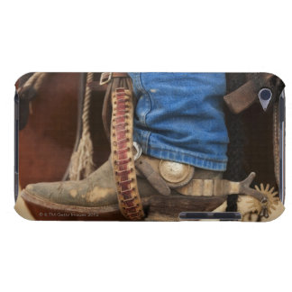 Cowboy boot with spur barely there iPod covers