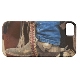 Cowboy boot with spur iPhone SE/5/5s case