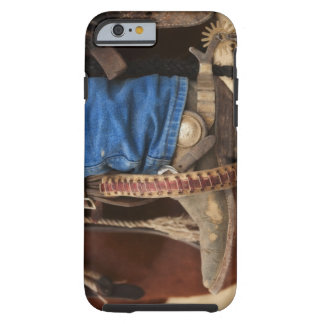 Cowboy boot with spur tough iPhone 6 case