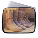 Cowboy boots 3 laptop computer sleeves