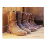 Cowboy boots 3 postcard