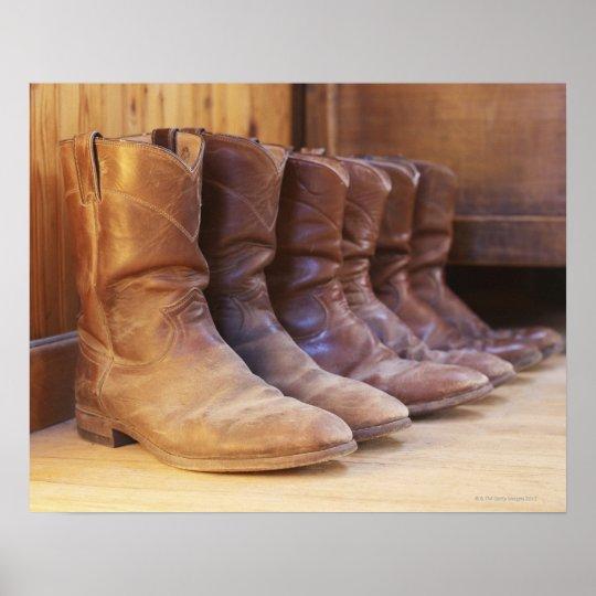 Cowboy boots 3 poster